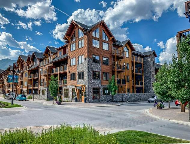707 Spring Creek Drive #402, Canmore, AB T1W 0K7 (#A1129987) :: Canmore & Banff