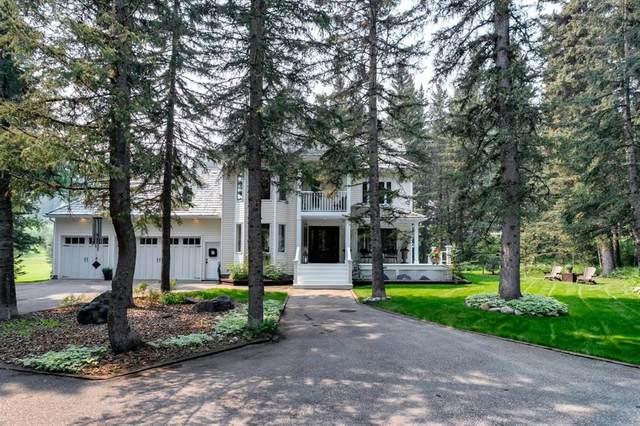 205 Mountain Lion Drive, Bragg Creek, AB T0L 0K0 (#A1130150) :: Calgary Homefinders