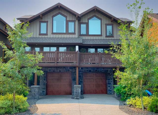 817 4 Street #1, Canmore, AB T1W 2G9 (#A1130385) :: Canmore & Banff