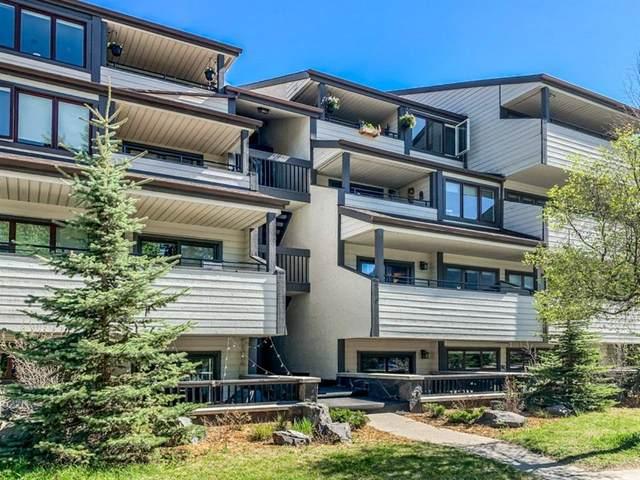 526 Banff Avenue #103, Banff, AB T1L 1B4 (#A1130482) :: Canmore & Banff