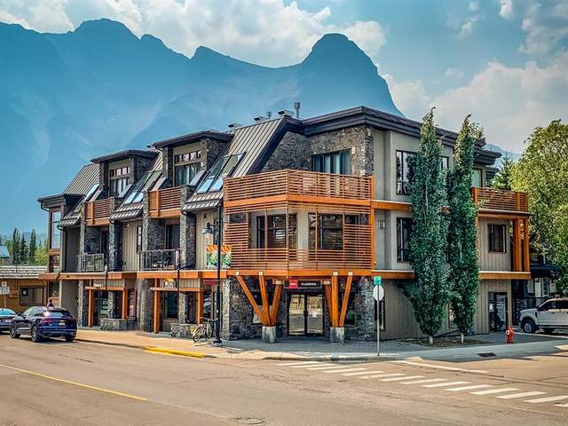 901 8 Avenue #301, Canmore, AB T1W 1Z7 (#A1130751) :: Canmore & Banff