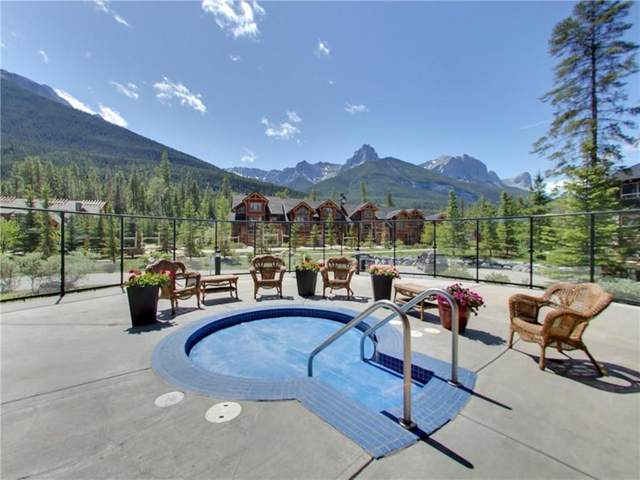 104 Armstrong Place #215, Canmore, AB T1W 3L5 (#A1130926) :: Canmore & Banff