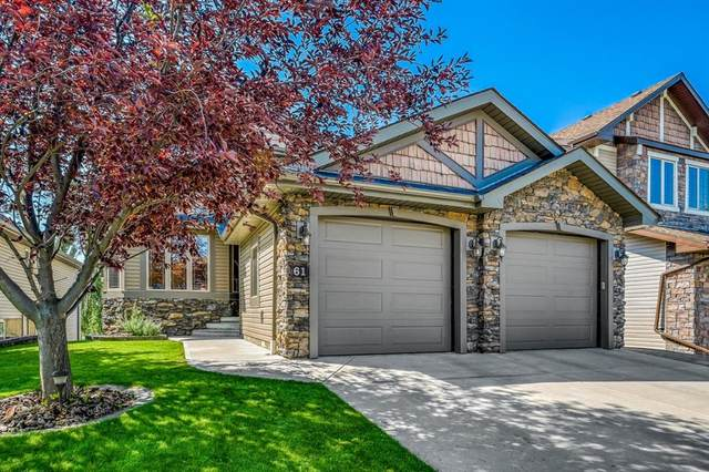 61 Crystal Green Drive, Okotoks, AB T1S 2N7 (#A1131510) :: Canmore & Banff