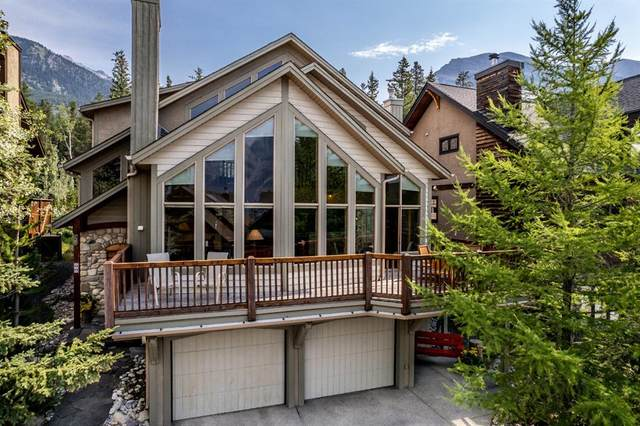 437 Eagle Heights, Canmore, AB T1W 3C9 (#A1131928) :: Canmore & Banff