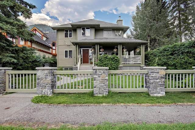 136 Otter Street, Banff, AB T0L 0C0 (#A1131955) :: Canmore & Banff