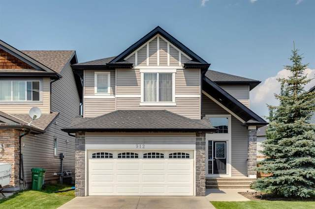 912 Prairie Springs Drive SW, Airdrie, AB T4B 0E4 (#A1132416) :: Calgary Homefinders