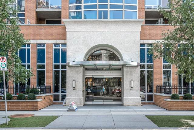 817 15 Avenue SW #809, Calgary, AB T2R 0H8 (#A1134043) :: Western Elite Real Estate Group