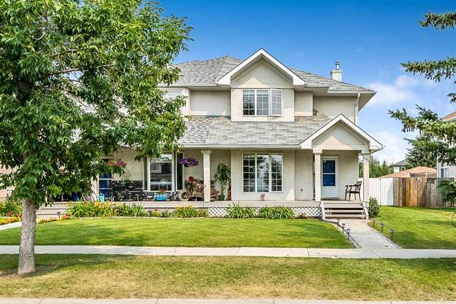 253 Banister Drive, Okotoks, AB T1S 1P7 (#A1134746) :: Calgary Homefinders