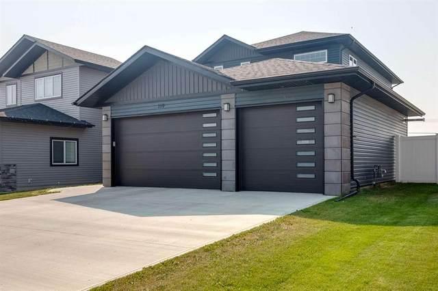 110 Mitchell Crescent, Blackfalds, AB T4M 0H6 (#A1135724) :: Calgary Homefinders