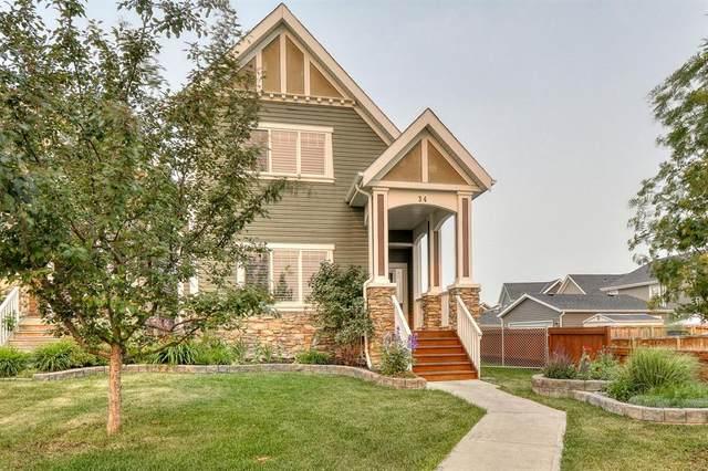 34 River Heights Boulevard, Cochrane, AB T4C 0J6 (#A1136142) :: Calgary Homefinders