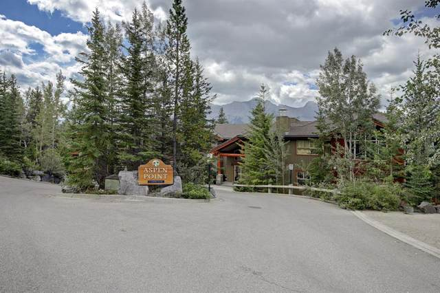 3 Aspen Glen #104, Canmore, AB T1W 1A6 (#A1138118) :: Canmore & Banff