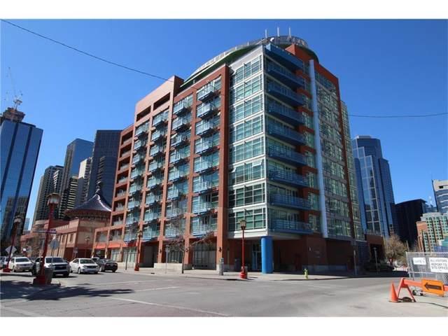 205 Riverfront Avenue SW #602, Calgary, AB  (#A1141422) :: Calgary Homefinders