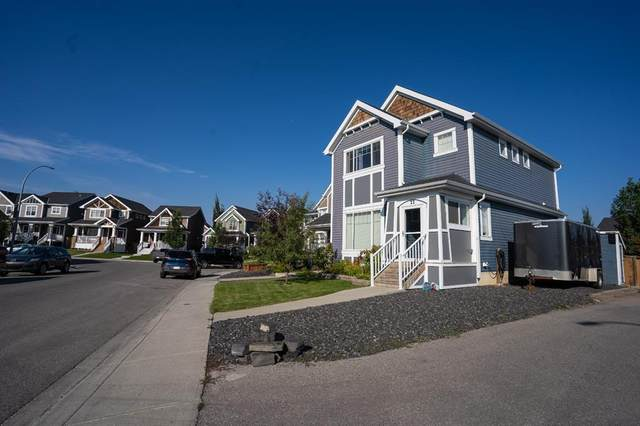 22 River Heights Green, Cochrane, AB T4C 0J6 (#A1142057) :: Calgary Homefinders