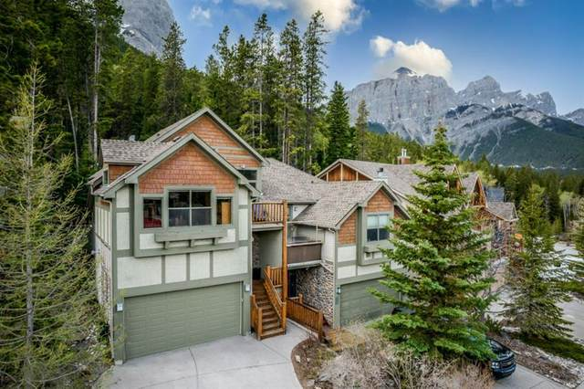 1085 Wilson Way, Canmore, AB T1W 3C5 (#A1142554) :: Calgary Homefinders