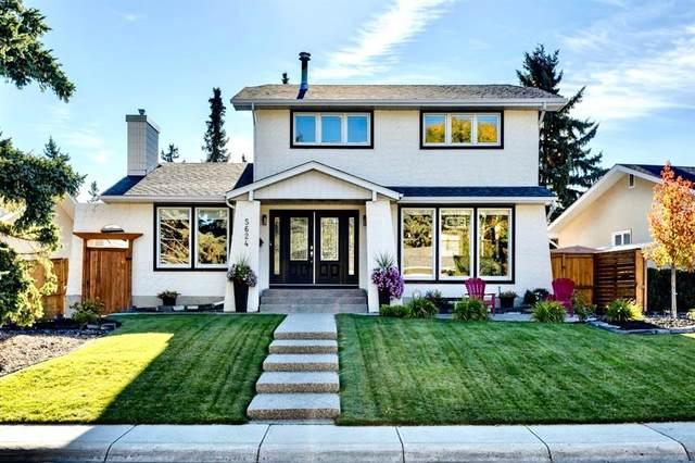 5624 Dalcastle Hill NW, Calgary, AB T3A 2A3 (#A1142789) :: Calgary Homefinders