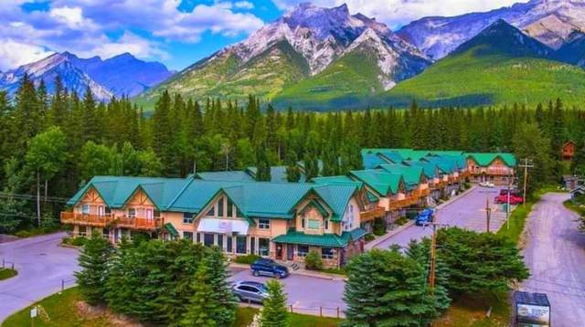 1200 Harvie Heights Road, Harvie Heights, AB T1W 2W2 (#A1143376) :: Canmore & Banff