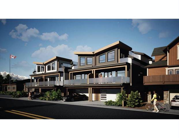 822 7 Street #3, Canmore, AB T1W 2C8 (#A1144311) :: Canmore & Banff