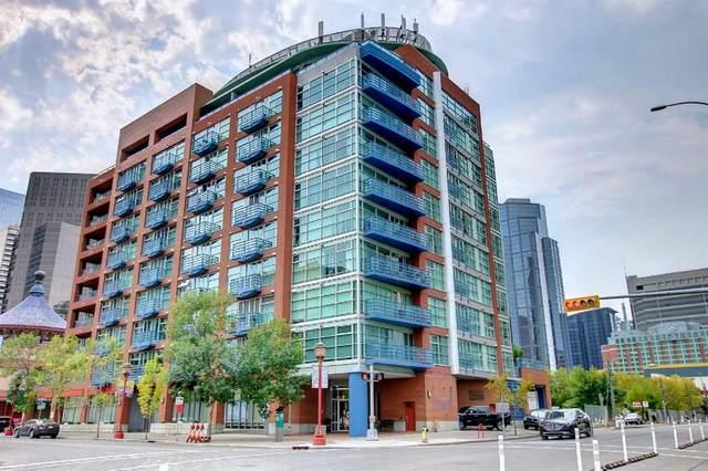 205 Riverfront Avenue SW #512, Calgary, AB T2P 5K4 (#A1145354) :: Calgary Homefinders
