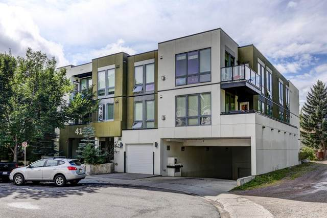 41 6A Street NE #101, Calgary, AB T2E 4A2 (#A1146487) :: Canmore & Banff