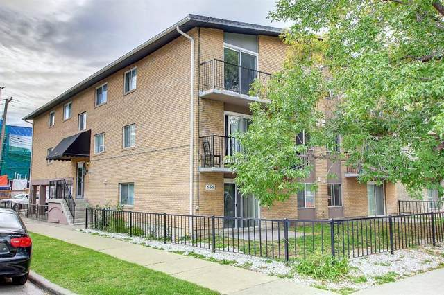 655 Meredith Road Ne #202, Calgary, AB T2E 5A9 (#A1147447) :: Canmore & Banff
