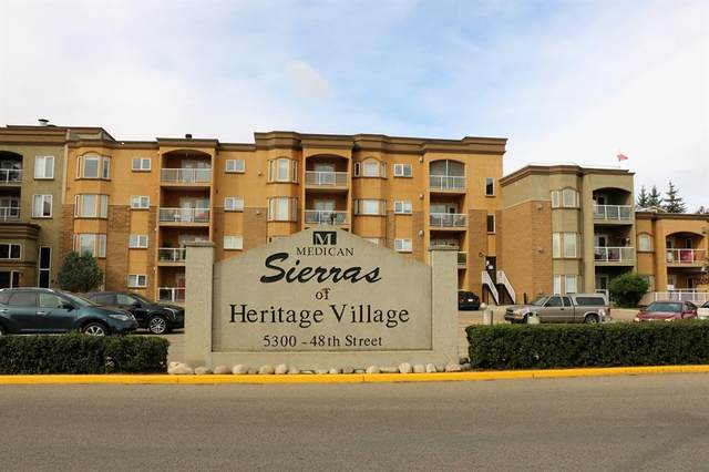 5300 48 Street #403, Red Deer, AB T4N 7C3 (#A1147758) :: Canmore & Banff
