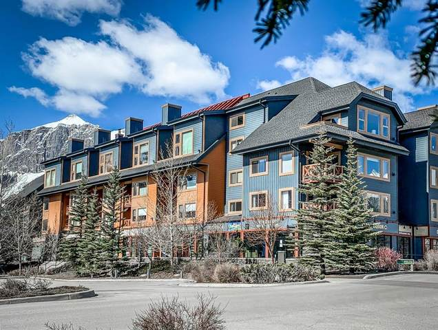 1160 Railway Avenue #413, Canmore, AB T1W 1P4 (#A1148007) :: Canmore & Banff