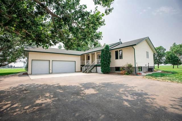 12122 Range Road 60, Rural Cypress County, AB T1B 0A4 (#A1148594) :: Calgary Homefinders