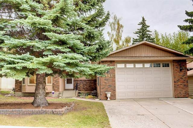 5563 Dalhart Hill NW, Calgary, AB T3A 1S8 (#A1148899) :: Calgary Homefinders