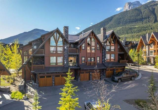 2100F Stewart Creek Drive #301, Canmore, AB T1W 0G3 (#A1149281) :: Canmore & Banff
