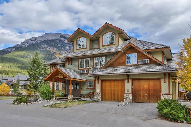 709/713 Benchlands Trail, Canmore, AB T1W 3G9 (#A1151275) :: Canmore & Banff