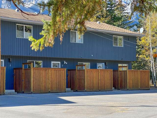 1530 7 Avenue #1, Canmore, AB T1W 1R1 (#A1151900) :: Canmore & Banff