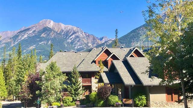 170 Crossbow Place #323, Canmore, AB T1W 3H4 (#A1152975) :: Canmore & Banff