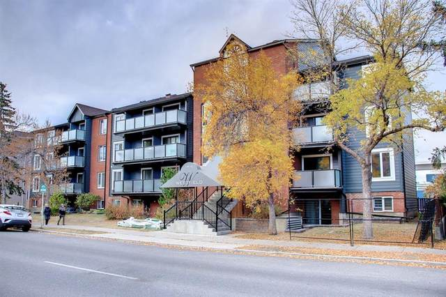 1810 11 Avenue SW #401, Calgary, AB T3C 0N6 (#A1154103) :: Canmore & Banff