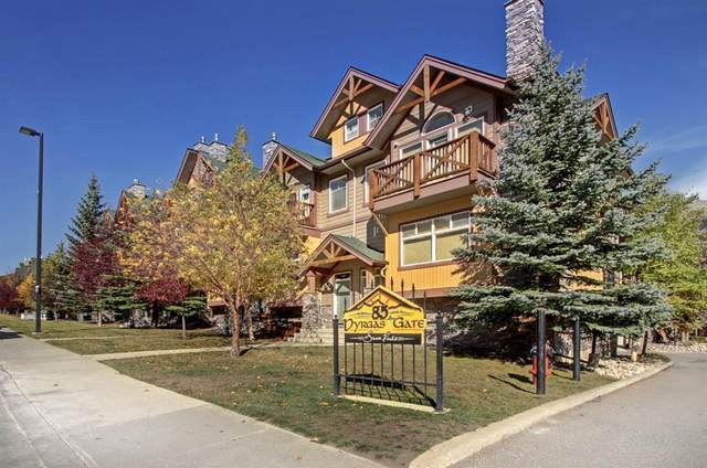 85 Dyrgas Gate #505, Canmore, AB T1W 3L1 (#A1154601) :: Canmore & Banff