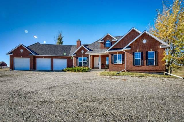 235105 Range Road 283 A, Rural Rocky View County, AB T2P 2G6 (#A1154609) :: Western Elite Real Estate Group