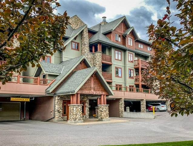 150 Crossbow Place #117, Canmore, AB T1W 3H5 (#A1155961) :: Canmore & Banff