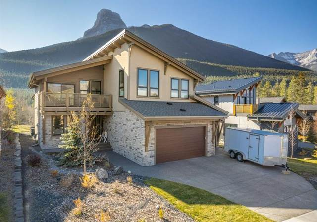 469 Stewart Creek Close, Canmore, AB T1W 0J5 (#A1156170) :: Canmore & Banff