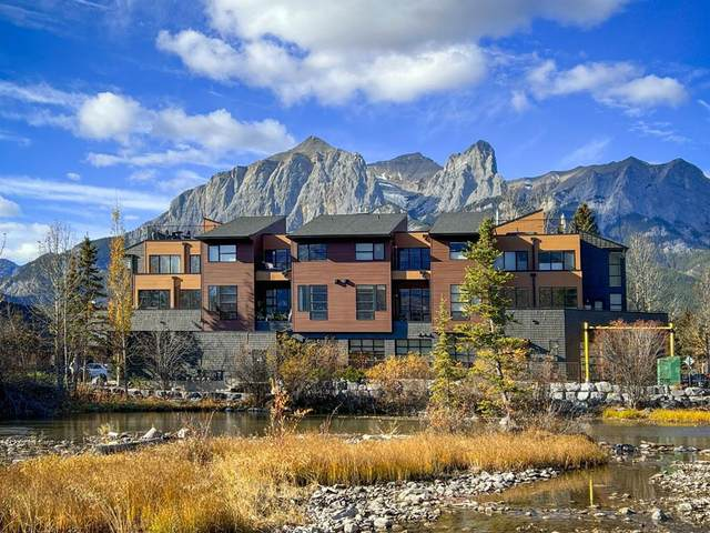 621 10th Street #203, Canmore, AB T1W 2A2 (#A1156685) :: Canmore & Banff