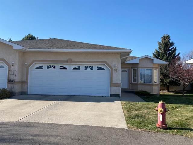 50 Fairmont Boulevard S #18, Lethbridge, AB T1K 7H5 (#A1156944) :: Canmore & Banff