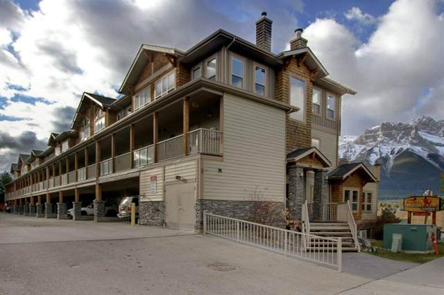 121 Kananaskis Way #208, Canmore, AB T1W 2X2 (#A1157068) :: Canmore & Banff