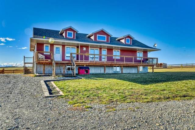 29529 Rge Rd 45, Rural Mountain View County, AB T0M 2E0 (#A1157711) :: Canmore & Banff
