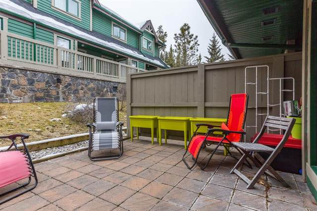 117 Cave Avenue #102, Banff, AB T1L 1B1 (#AW52325) :: Canmore & Banff