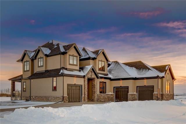 65 Waters Edge Gardens, Rural Rocky View County, AB T2G 1H2 (#C4237449) :: Calgary Homefinders