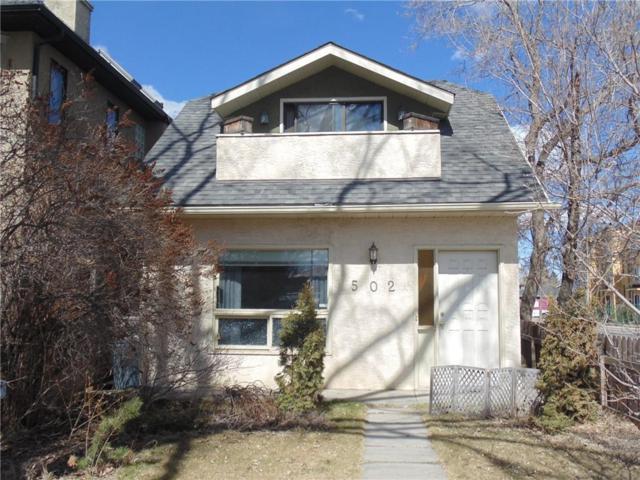 502 27 Avenue NW, Calgary, AB T2M 2H8 (#C4238121) :: Calgary Homefinders