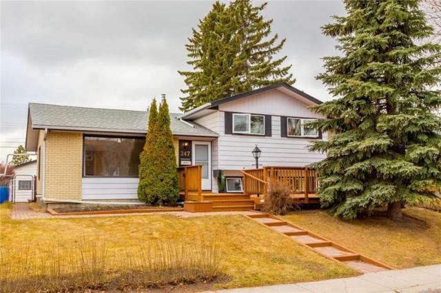 247 Huntridge Road NE, Calgary, AB T2K 4B7 (#C4238510) :: Canmore & Banff