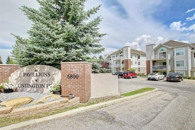 6800 Hunterview Drive NW #102, Calgary, AB T2K 6K5 (#C4238521) :: Canmore & Banff
