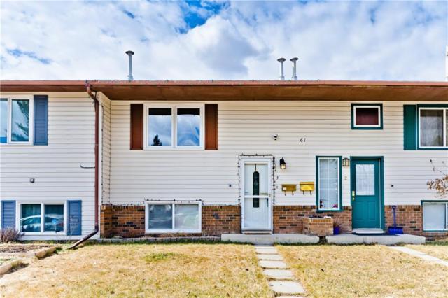 67 Cedarwood Hill(S) SW #3, Calgary, AB T2W 3H4 (#C4238648) :: Redline Real Estate Group Inc