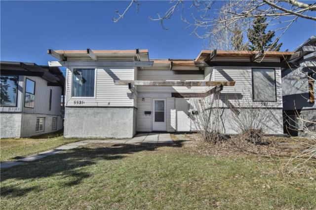 5521A Maddock Drive NE, Calgary, AB T2A 3W2 (#C4238700) :: Redline Real Estate Group Inc