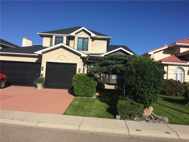 41 Hidden Valley Heights NW, Calgary, AB T3A 5G1 (#C4238881) :: Calgary Homefinders