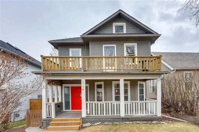 2114 16A Street SW, Calgary, AB T2J 5T9 (#C4239015) :: Canmore & Banff